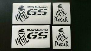 BMW GS Dakar Aufkleber Motorrad Rally Biker