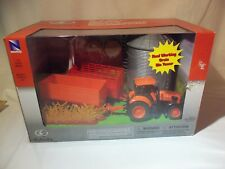 Kubota M5 111 Tractor With Wagons and Grain Bin Set (New)