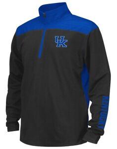 """Kentucky Wildcats Youth NCAA """"Vault"""" 1/4 Zip Pullover Long Sleeve Wind Shirt"""