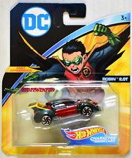 HOT WHEELS 2018 DC COMICS ROBIN 2.OT FIRST APPEARANCE CHARACTER CARS