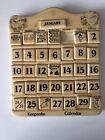 Perpetual Calendar Keepsake