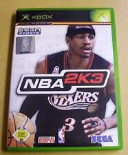 Microsoft XBox Spiel Game - NBA 2K3 - Basketball ( Sega Sports )