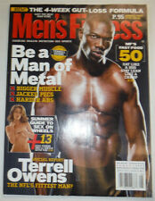 Men's Fitness Magazine NFL Terrell Owens & Guide August 2005 030415R