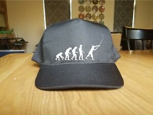 Printed Baseball Cap EVOLUTION FISHING Fashion Cool Knit Caps New Gift