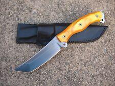 BUSSE Combat ERGO PUBLIC DEFENDER Knife Custom Molded Leather Sheath BLACK - USA