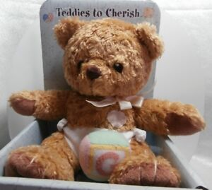 CHERISHED TEDDIES WELCOME BABY GIRL PLUSH A4951 NEW