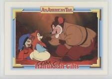1991 Impel An American Tail: Fievel Goes West #104 Hanukkah Gifts Card 0c4