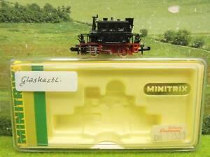 Minitrix 12015 N Dampflok GLASKASTEN  DR BR 98 308 in OVP (YR) G0308