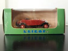 Elicor 1200 Ford V8 1932 Roadster Ouvert Die-Cast
