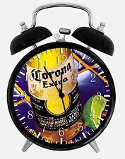 "Corona Extra Beer Alarm Desk Clock 3.75"" Home Office Decor Z06 Nice For Gift"