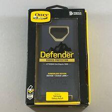 NEW Samsung Galaxy Note 9 OEM OtterBox Defender Case & Holster - Dark Lake