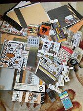 Halloween thanksgiving Tim Holtz Martha Stewart Punches Paper Dies Stickers
