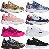 adidas Originals Falcon Damen Sneaker Schuhe Turnschuhe Running-Style Retro