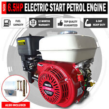 6.5HP OHV STATIONARY PETROL ENGINE 19MM SHAFT 4 WATER PUMP GENERATOR GO KART ETC