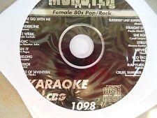 Monster Hits Karaoke CD+G vol-1098/ Bananarama,Madonna,Salt N Pepa,Sheena Easton