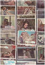 Lot-36 The Bionic Woman 1976 Trading Cards Universal City Studios Lindsay Wagner