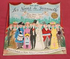 LES NOCES DE JEANNETTE  LP   ART COVER  PEYNET