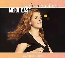 NEKO CASE - Live From Austin Tx [digipak] (CD, 2006, New West Records)