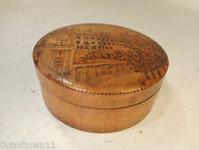 Vintage Treen Blois Box   ref 2549
