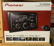 Pioneer coche/van CD/MP3, Aux-In, Usb Ipod/Iphone, Doble Din DAB Bluetooth estéreo