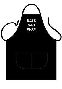 MENS/WOMENS,BLACK NOVELTY APRON, BBQ, BEST DAD EVER