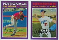 2020 Topps Heritage Hot Box PURPLE Chrome - Complete Your Set You Pick!