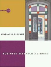 Business Research Methods-William G. Zikmund, 9780030350849