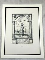 1911 Print Hans Holbein The Younger Print Roman God Terminus Classical Antiquity
