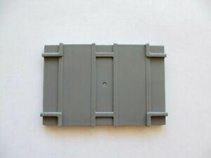 Playmobil 3003 3262 4080 Deckel für Gabelstapler-Kiste Container-Deckel grau