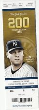 2014 NEW YORK YANKEES VS TWINS TICKET STUB ARCIA HR 5/30/14 DEREK JETER