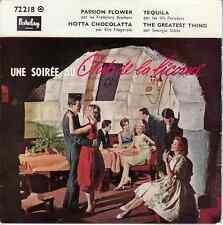 45 T EP *UNE SOIREE AU CLUB DE LA LICORNE* GEORGIA GIBBS ELLA FITZGERALD + 2