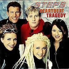 Steps Heartbeat Tragedy + 2 CD Single VGC