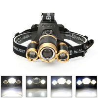 30000LM XML T6 Led Headlamp Headlight Head Torch 18650 Head Flashlight Lamp