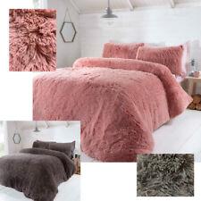 Уютный мех лохматый пушистый длинный ворс пуховое одеяло лоскутное покрывало постельные принадлежности набор с наволочки