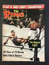 The Ring Boxing Magazine November 1964   The Biggest Fight