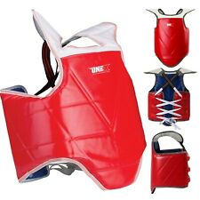 Boxing Belly Protector Chest Guard MMA Body Armour Training Kickboxing Sports