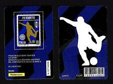 Italia 2021 - Inter Campione d'Italia - tessera filatelica