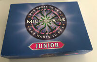 WHO WANTS TO BE A MILLIONAIRE JUNIOR BOARD GAME - COMPLETE (47)