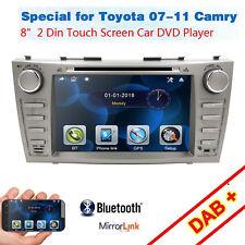 For Toyota Camry 2007 2008 2009 2010 2011 Car DVD 2Din 8'' Radio GPS NAV Stereo