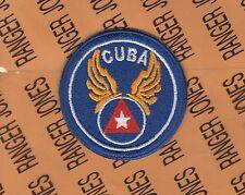 """USAAF US Air Force CUBA 2.5"""" shoulder patch"""