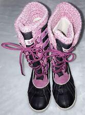 Totes Girls Snow Boots Selena Magenta Size 4 Reg