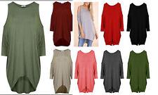 Patternless Scoop Neck 3/4 Sleeve Women's Other Tops