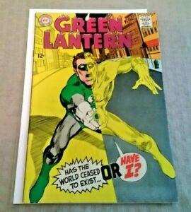 Green Lantern #63 VF Sep 1968 1ST Adams Green Lantern Cover DC Comics Silver Age