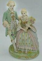 Vintage Porcelain Victorian Couple Occupied Japan Figurine
