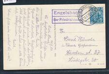Landpost Ra2 20a Groß Escherde üb Karte 1958 Hidesheim 22465