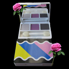 Clinique Eyeshadow Trio Graphite Pearly Pink Seashell Pink/Fawn Satin New Unbox