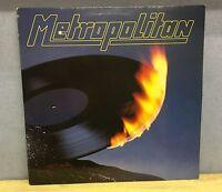 METROPOLITAN Metropolitan 1981 German Vinyl LP + INNER EXCELLENT CONDITION