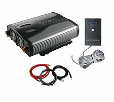 Cobra CPI1575 1500W 3 Outlets DC to AC Car Power Inverter w/Remote + Cable Kit