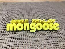 Rad Bmx Movie Bart Taylor Mongoose inspired 3D Printed Art.