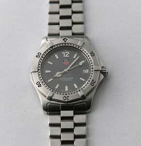 TAG HEUER G3065 Dive Watch 38mm - AS IS -  NO RESERVE